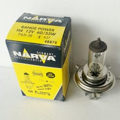 Narva 48878 H4 RANGE POWER 60/55w P43t 12v добавка света 30%