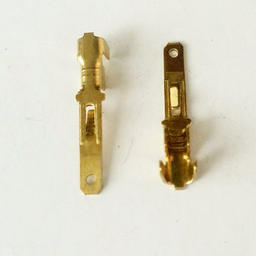 "Клемма ""папа"" 2.8мм толщина 0.3мм под провод 0.5-1кв.мм Terminals RoHS made in Turkey. Упаковка 500шт"