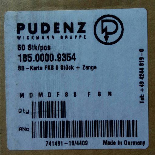 Набор предохранителей PUDENZ 185.0000.9354 с пинцетом. Made in Germany
