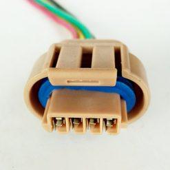 Разъем модуля зажигания ВАЗ-2113-15, 2110-12 4конт (стар. обр.)