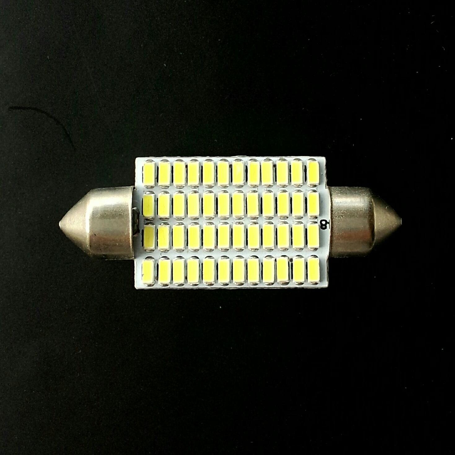 Festoon 16x41 LED 48smd 3014 SV8,5 12v 41мм драйвер 550Lm