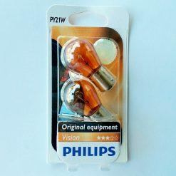 Philips 12496NAB2 PY21W 12v BAU15s блистер 2шт
