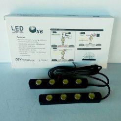 ходовые огни DRL 05 (JH X4 4 диода 0,5w)