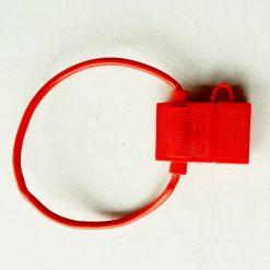 Корпус под предохранитель флажковый евро 1A-30А закрытый красный