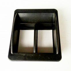 Рамка для переключателя стеклоподъемника универсального горизонтальная двойная