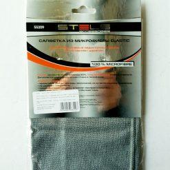 Салфетка из микрофибры ELASTIC STELS 55209 удаляет ззагрязнения из самых недоступных мест, не оставляя царапин.