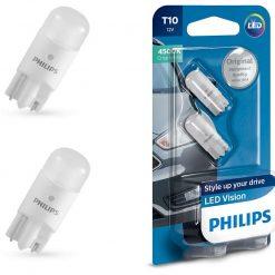 PPHILIPS LED Vision 4500K T10 W5W 127914000KB2 0.8W