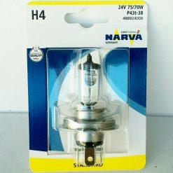 Narva 48892-01B H4 75/70w 24v P43t-38