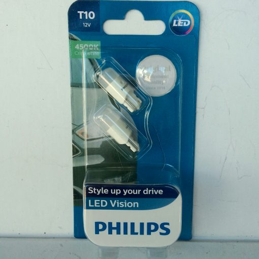 PHILIPS LED Vision 4500K T10 W5W 127914000KB2 0.8W