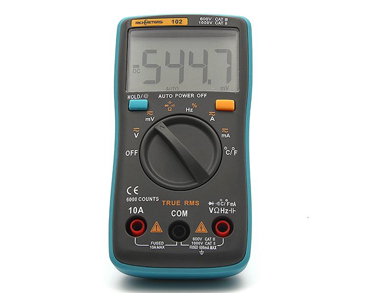 Мультиметр RICHMETERS RM102 с термопарой