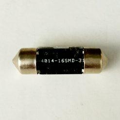 Festoon 10,5x31 LED 16smd 4014 SV8,5 12v 150Lm