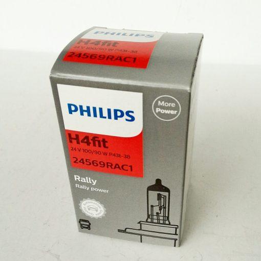 Philips 24569 Rally RA 100/90w 24v P43t-38