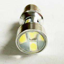 светодиод T25 18smd 3030 12-24v BA15s белый