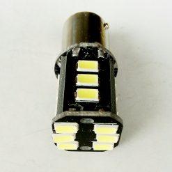 светодиод T25 18smd 5730 12-24v BA15s CANBUS белый