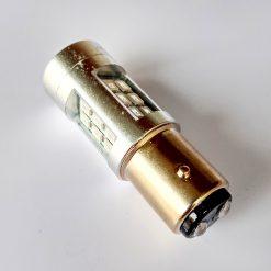светодиод T25 21smd 2835 12v BAY15d красный