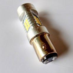 светодиод T25 21smd 2835 12v BAY15d 320/1320Lm белый