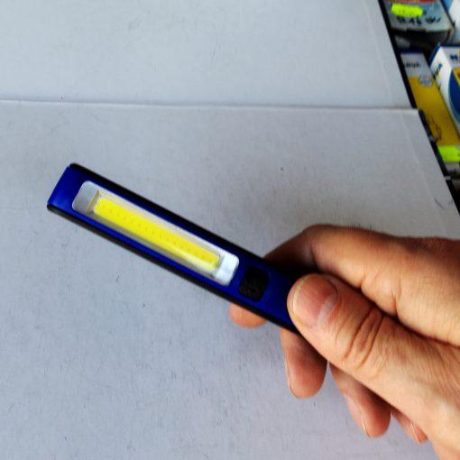 Фонарь инспекционный Esen 86A COB USB аккумуляторный с магнитом и USB зарядкой