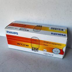 Philips 12071CP WY21W 12v W3x16g Amber