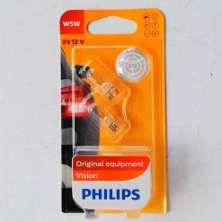 Philips 12961B2 W5W 12v W2,1x9,5d блистер 2шт