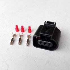 Разъем AUDI, Volksvagen 3D0 973 703 (без провода) 3 контакта
