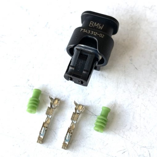 BMW 7543312-02 Разъём 2 pin (без провода) оригинал