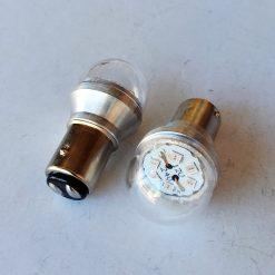 светодиод Т25 - 6W 12v-24v красный 2 контакт