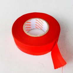 Изолента Certoplast (0,17мм х 19мм х 30м) ПЕТ-тканевая 2 сторон клей красная