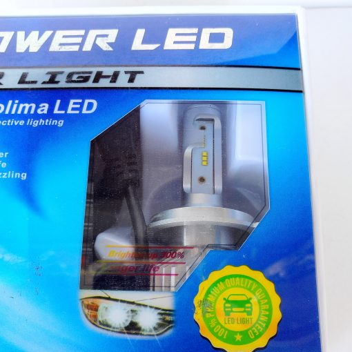 LED AllLight F2 H4 50W 6500K 7000LM с вентилятором (PHILIPS technology)