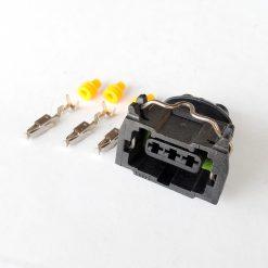 Разъем на 3 контакта без провода оригинал (датчик скорости, Хола)