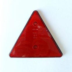 Катафот светоотражающий красный треугольник