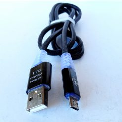 Качественный и стильный светящийся кабель Micro USB изготовлен из материалов высокого качества. Подходит для всех устройств, которые оснащены разъемом micro USB. Длина кабеля составляет 1м - оптимальный выбор для зарядки и синхронизации Ваших устройств!