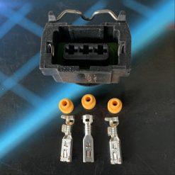Разъем на 3 контакта без провода (датчик скорости, Хола) оригинал