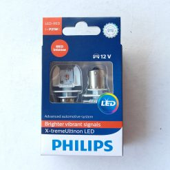 PHILIPS 12898RX2 X-tremeUltinon LED автомобильная сигнальная лампа LED-RED [~P21W], 12 В, насыщенный красный