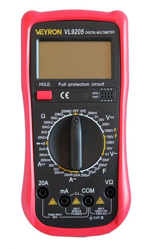 Мультиметр DT 9205VL профессиональный