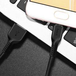 Кабель HOCO X20 Flash charging data cable 2.0A Micro USB 1м
