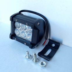 Светодиодная фара AllLight C-18W 6chip CREE spot 9-30V (квадрат) нижний крепеж
