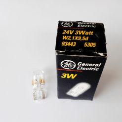 GE 93443 3W W2,1x9,5d 24v