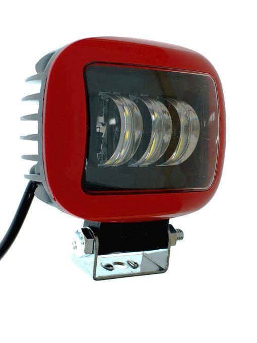 Светодиодная фара AllLight 30W(B) 3chip CREE spot 9-30V (прямоугольная)