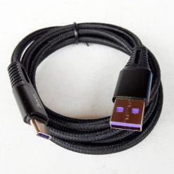 Кабель HOCO X22 Quick Charging Type-C 5A/1m Black