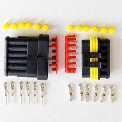 Разъем герметичный на 6 контактов без провода (к-т)