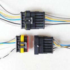 Разъем герметичный на 6 контактов с проводом (к-т)