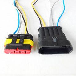 Разъем герметичный на 5 контактов с проводом (к-т)