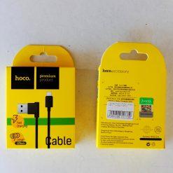 Кабель HOCO UPM10 L-Shape 2.0A Micro USB 1,2м