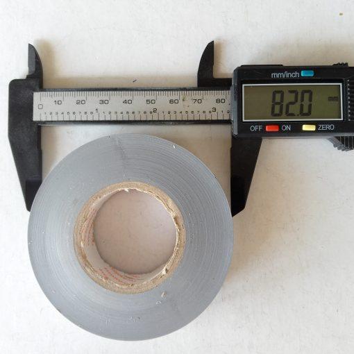 Изолента Сeroplast 606 PVC 19mm*30m Серая. Made in Germany