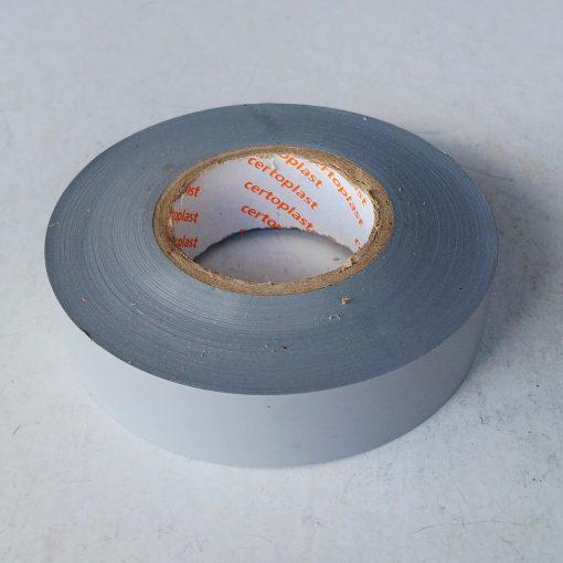 Изолента Сeroplast 606 PVC 0,15mm*19mm*33m Серая. Made in Germany