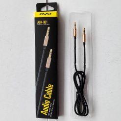 AUX-кабель Awei AUX-001 Gold