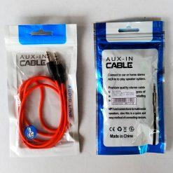 AUX-кабель 3.5x3.5 PVC Classic 1m. Red