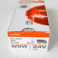 Osram 2845 W5W 24v W2,1x9,5d