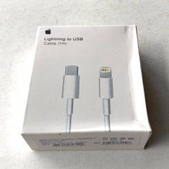 Кабель Apple Type-C to Lightning USB-C(PD) Apple 1m MD818ZM Box