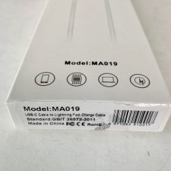Кабель Apple PD to Lightning USB-C(PD) Apple 1m MA019 MD818ZM Box Original
